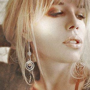 1 LEFT upcycled desert earrings